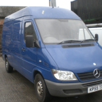 mercedes-sprinter-blue-2006-front PNG