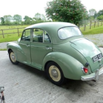 morris-minor-rear PNG