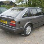 nissan-bluebird-1990-rear PNG